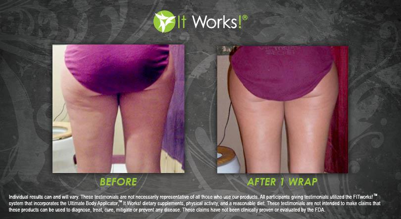 wrap it works cuisse avis avant apres photo 2
