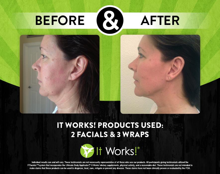 it works wrap facial avis avant apres 31