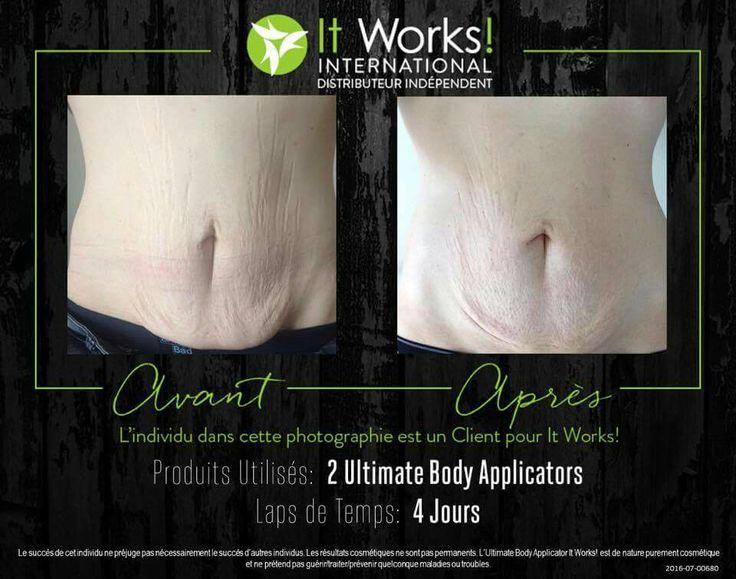 toning body wrap it works avis avant apres ventre