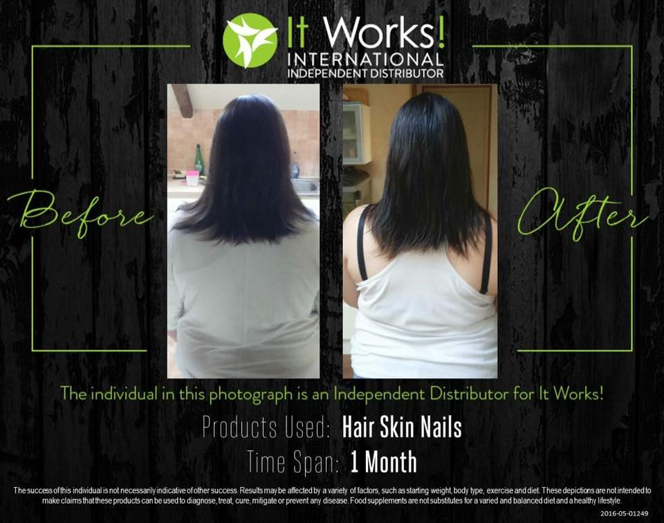 hair skin nails it works avant apres