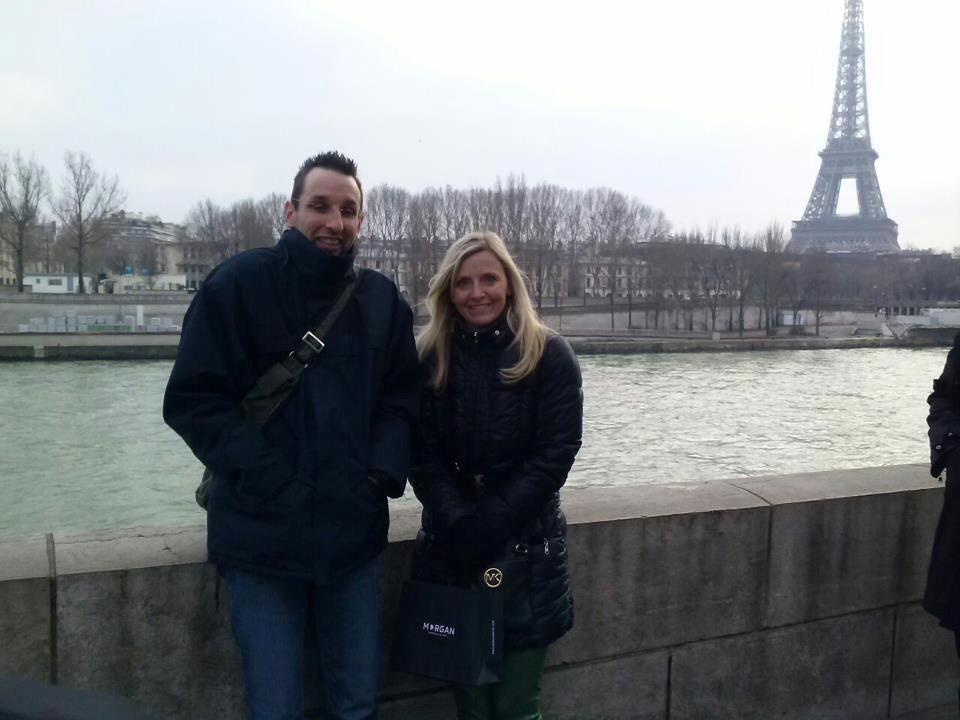 David Jasienski et Carla Burns à Paris en Mars 2013