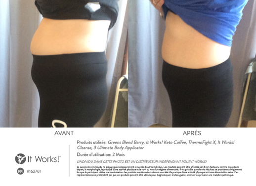 thermofight cleanse keto coffee greens wrap avant apres ventre it works