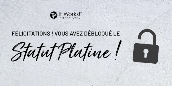 client fidele it works statut platine