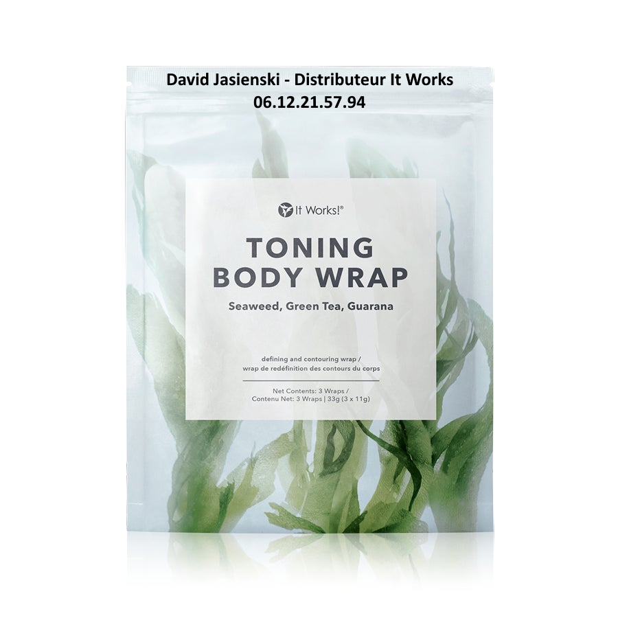 Comment Utiliser le Toning Body Wrap It Works ?